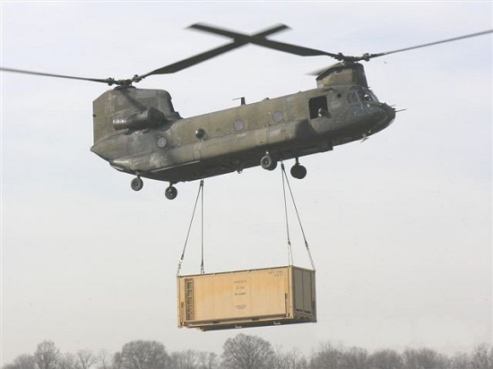 Ruggedized for Helicopter Transport - The MIRCS system is fully compatible with ISO Intermodal Transportation Standards, as well as DoD standards for helicopter and air transport.